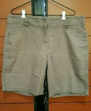 Cotton Blend Classic Shorts for Women