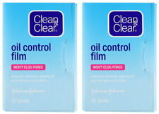 2 x Clean and & Clear Oil Control Film Blotting Paper Face 120 sheets Free Ship