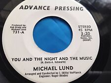 Hear Rare Male Vocal Funk Beat 45 : Michael Lund ~I Won't Last A Day Without You