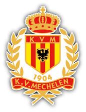 KV Mechelen FC Belgium Soccer Football Car Bumper Sticker Decal 4'' x 5''