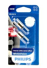 Philips H6W WhiteVision Ultra Blue Vision Standlicht DUO 12036WVB2 +ANGEBOT+