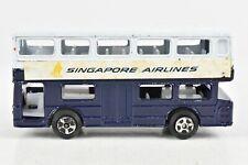 Mandarin Toys Londoner Double Decker Bus Singapore Airlines DB-01 RARE