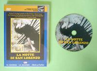 DVD Film Ita Drammatico LA NOTTE DI SAN LORENZO antonutti no vhs lp cd mc (T2)