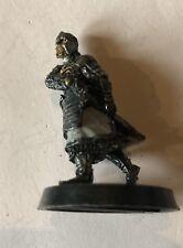 Dibujo de metal blindado Faramir a pie espada señor de los anillos games workshop