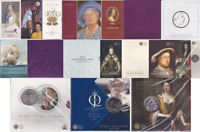 1996 - 2013 Brilliant Uncirculated £5 Coin Pack Choose Your Packs BU Five Pound