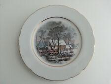 """Vintage Avon China Plates 8"""" Awarded Exclusively to Avon Representatives 1977"""