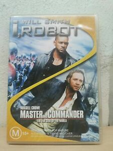 I, Robot  / Master And Commander -The Far Side Of The World - 2 DVD SET