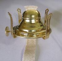 NEW #1 Solid Brass Queen Anne Oil Kerosene Lamp Burner replica antique NO.1