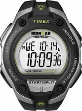 "Timex T5K412, Men's ""Ironman"" Resin Watch, Alarm, Chronograph, Indiglo, T5K4129J"
