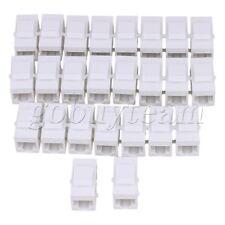 25pieces Cat5 RJ45 Ethernet Coupler W/ Keystone Latch Female to Female