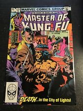 Master Of Kung Fu#121 Incredible Condition 9.0(1983)