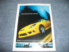 "2003 Toyota GT-S Celica Ad ""Slow and Steady Wins the Race. In Fairy Tales"""