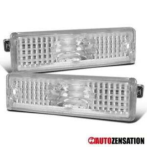 For 1993-2002 Chevy Camaro Clear Bumper Lights Rear Signal Parking Side Markers