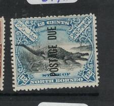 North Borneo SG D21a MNG (9dxq)