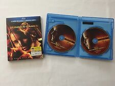 The Hunger Games Blu-ray Disc 2012 2 Disc Set BluRay DVD with Sleeve