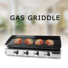 LPG Plancha Gas BBQ Griddle Hot Plate Barbecue Grill Enameled Plate Cookware