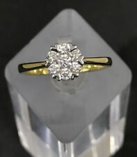 NEW - 18ct Diamond Engagement Ring Set With Heart Claws