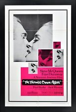 THE THOMAS CROWN AFFAIR * CineMasterpieces 1SH MOVIE POSTER 1968 STEVE MCQUEEN