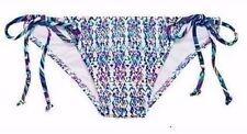 Victoria's Secret Teeny Bikini Bottom Medium Totem Multi Geo VS Size M
