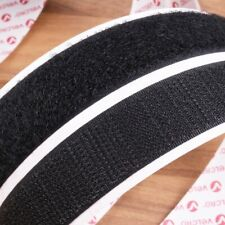 White Sew-On Hook /& Loop Tape 20mm wide 1m//2m//3m//4m//5m//10m one side or both