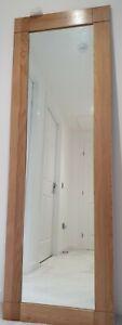 Natural Solid Oak Mirror from Oak Furniture Land