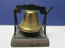 Liberty Bell 1776 1976 Bicentennial Collectible desk decor it really rings Dl3