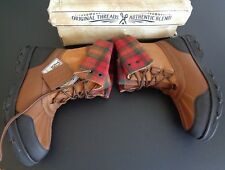 MARC ECKO Grierson Douro 24586 Luggage NEW All Weather Boots 11 Leather Plaid