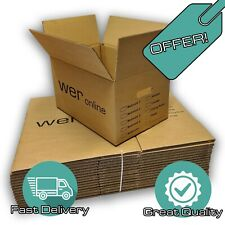 20 LARGE MOVING BOXES Double Wall Cardboard Box NEW # Removal Packing Shipping