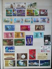 Pitcairn Islands Modern MNH Collection Mostly Sets on Stock Sheets.