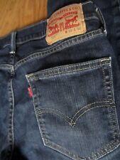 LEVIS 511 slim Stretch thunder dark blue Jeans label 32x30 FIT 31x28-29 used