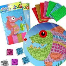 1 Glitzer-Mosaik Klebebild, 21cm x 15cm, verschiedenste Motive erhältlich,