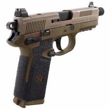 Talon Grips for FNH FNX-45/FNP-45 Large Backstrap Black Rubber Texture 079R