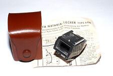Agfa Natarix Sucher Type 6710 für Optima / Silette vintage finder (gebraucht)