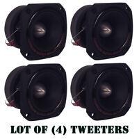"Lot of (4) Pyramid TW44 1"" 300W Heavy Duty Titainium Super Tweeters Car Audio"