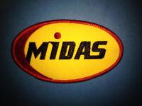 Rare Vintage 1980's Midas Muffler Service Employee Uniform Jacket Hat Patch A