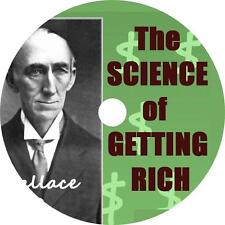 Science of Getting Rich, Wallace Wattles Audiobook English on 1 MP3 CD Free Ship