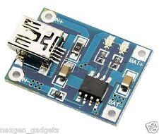 Mini USB Lithium Battery Charging Board Li Ion Li  Po Charger Module 5V 1A CC CV