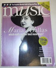 Music Magazine Maria Gallas George Bernard August 1996 032515R2
