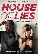 #4 HOUSE OF LIES Third Season Brand New Sealed DVD Set FREE SHIPPING