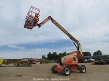 2010 JLG 600AJ 60' 4WD Diesel Boom Lift Platform Man Aerial SkyPower Jib bidadoo