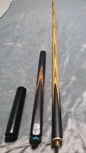 Phoenix unity 3/4 ash snooker cue.