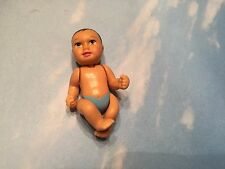 BARBIE HAPPY FAMILY PREGNANT MIDGE BABY BOY BLUE DIAPER FITS IN BELLY BUMP
