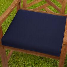 Bon Mozaic Company Sunbrella Corded Indoor/outdoor Chair Cushion Canvas Navy 19  X