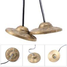Handcrafted Tibetan Meditation Tingsha Cymbal Bell W/ Buddhist Lucky Symbol