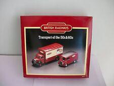 Corgi D46/1 British Railways 50s & 60s Bedford O Morris J Vans Boxed