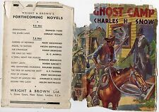 CHARLES H SNOW GHOST CAMP REPRINT HARDBACK DJ 1947