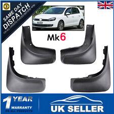 SET FOR VW GOLF MK6 6 2008-2013 FRONT & REAR MUD FLAPS BRAND NEW MUDFLAPS FENDER