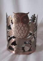Bath & Body Works Candle Sleeve 3-Wick 14.5 oz Tall SPARKLING GLITTER OWL
