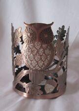 Bath & Body Works Candle Sleeve 3-Wick 14.5 oz Tall SPARKLING GLITTER OWL