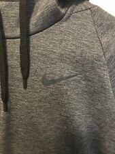 Nike Classic Dark Gray Dri-Fit Hooded Sweater Men Size S